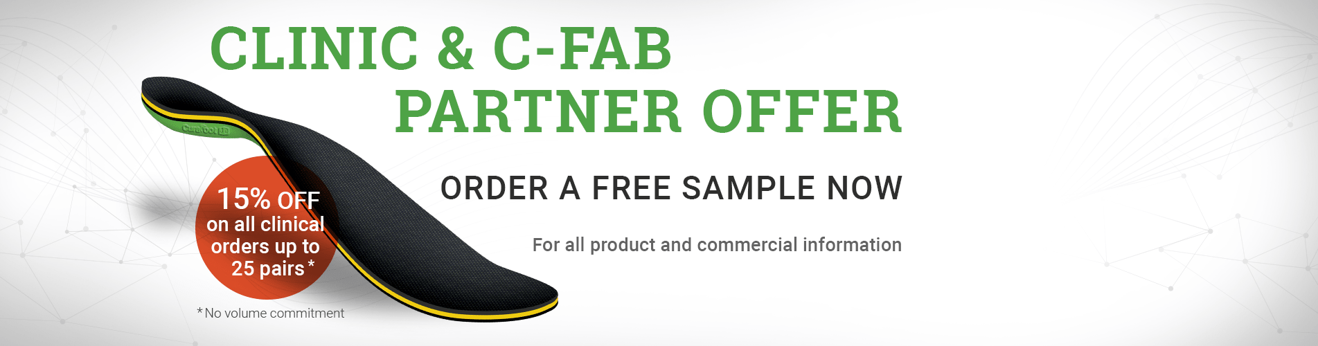 Clinic and C-Fab partner offer